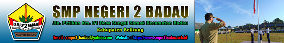 SMP Negeri 2 Badau - Belitung